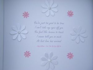 Wedding First Dance Lyrics - Daisy